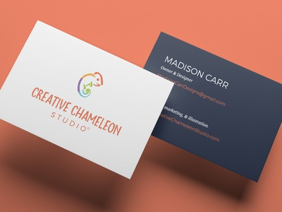 Design Agency Business Card