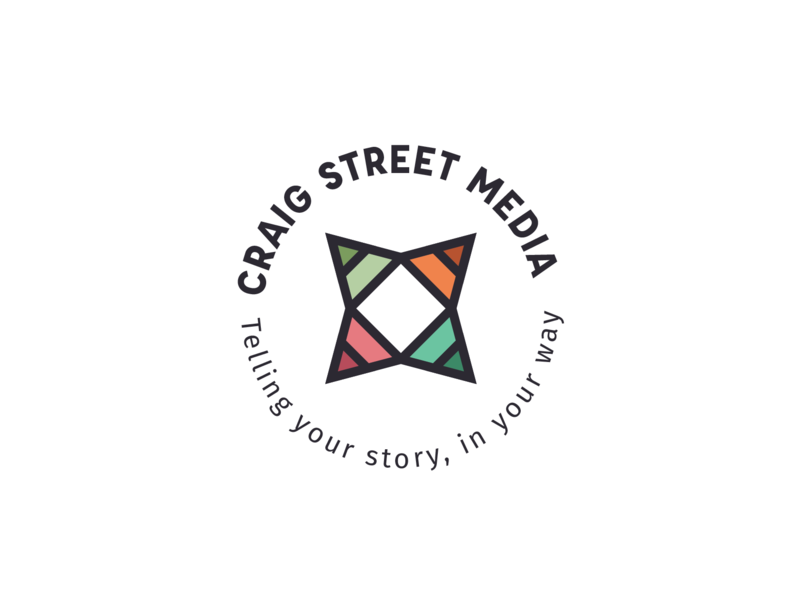 Alternative Logo - Craig Street Media marketing materials illustrator logo design logo typography branding graphic  design design
