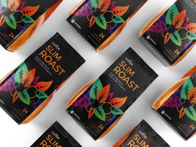 Slim Roast Coffee Packaging Design
