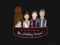 Star Wars Seasons Greetings // Weekly Warmup