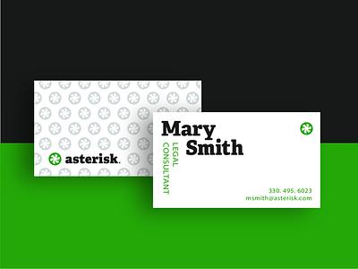 Asterisk Business Card Design Concept logomark icondesign icon logodesigner brand identity visualidentity brandingconcept visual design graphicdesign design logotype logodesign logo brand branding brand design