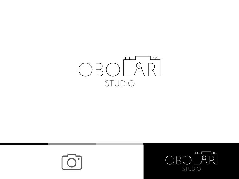 Obolari - Photography Studio logotype photo shutter hidden branding typography monogram design logo idea logodesign logodesigner logo design camera logo studio photographer