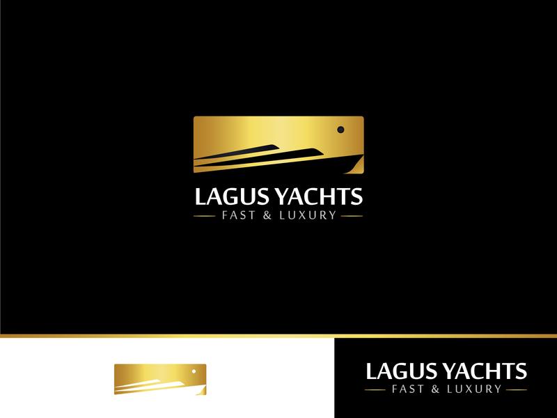 Lagus Yachts - Concept #1 minimal typography monogram design logo idea logodesign logodesigner logo design sun logo luxury yacht