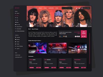 Event Discovery Website Design hello dribbble ecommerce app minimal webdesign service design event app dashboard app design web ux ui