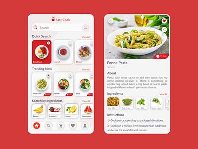 Cooking App skecth figma user experience user interface app design web ecommerce app dashboard design illustration food app cooking app ui ux