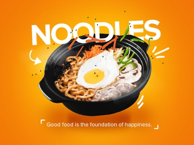 Noodles food social media