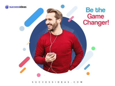 Be the game changer today! design banner ad social media