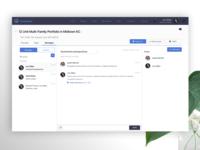 Web app - Message Screen