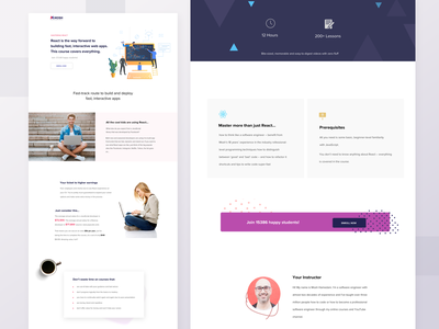 Landing Page branding landing page website coding adobe sketch illustration concept interface uiux layout brand identity landingpage landing design ux ui