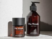 The Woods — Packaging: Eau De Parfum + Body Wash