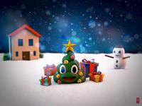 Emoji Christmas Tree