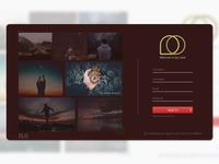 Sign Up page, Ui/Ux design.