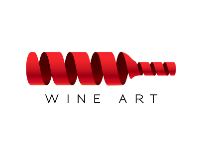 Wine Art logo branding