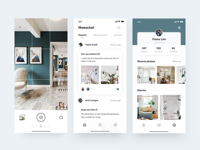 Home design ui app