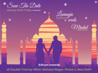 Save the Date- Wedding Card