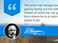 Famous Quotes - J.P. Morgan