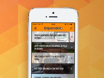 Sapendolo App for iOS 7 sapendolo app