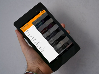 Sapendolo App for Android tablet