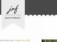 Jesse R Friedman dot com