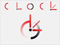 Clock company logo design