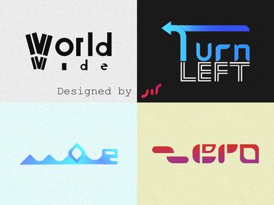 Typographic Logo Portfolio (Part 1)