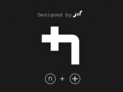 +n logo design