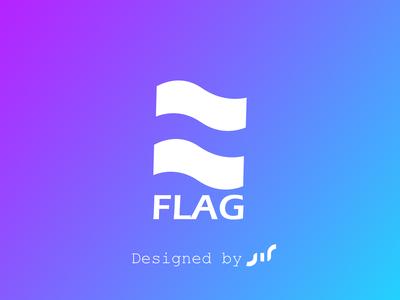 Flag logo design