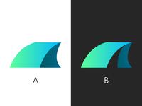 Tent logo design