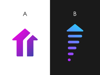 Level Up logo design