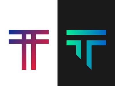 T monogram design