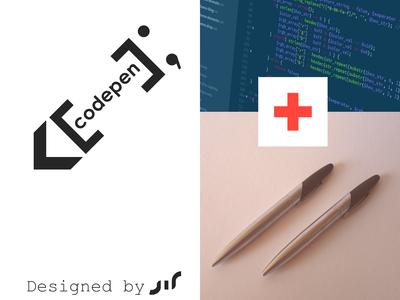 Codepen logo design