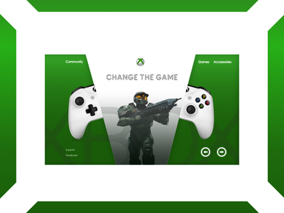 Website redesign for gamers ;)