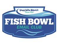 Long John Silver's Fish Bowl Email Club Logo