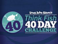 40 Day Think Fish Challenge Logo