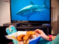 Long John Silver's Shark Week Facebook Post