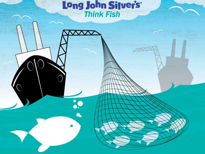 Wild-Caught think fish fish think wild-caught sustainability seafood fast food long john silvers qsr