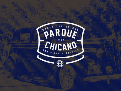 Chicano Park Day Tee typography type