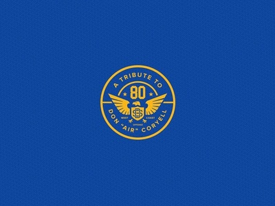 Don Coryell logo typography sdca