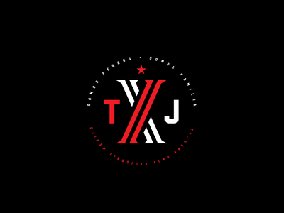 Xolos xolos typographic logo design typography