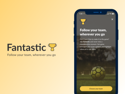 Daily UX Writing Challenge: Day 2 - Sports App