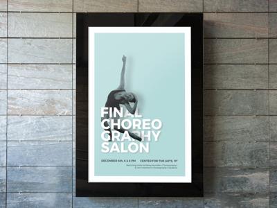 Choreography Salon Poster