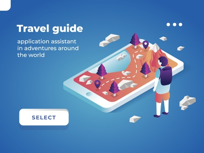 Travel guide geography world application app guide travel