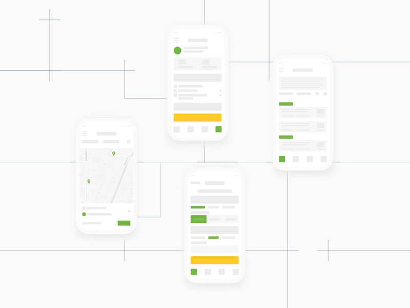 Mobile App Wireframe Examples user uikits application web ux tools inspired design cover template prototype native mobile design example wireframe mobile app app mobile ui illustration