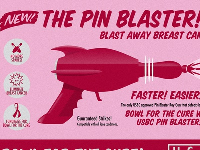Pin Blaster Ray Gun Bowl For The Cure