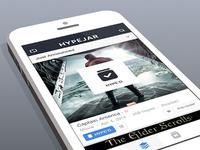 Hypejar App