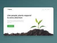 Conceptual Plants web UI Shot #01