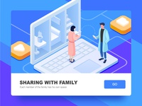 Sharing with family