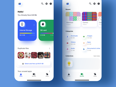 Google files - Re ui adobexd re-design
