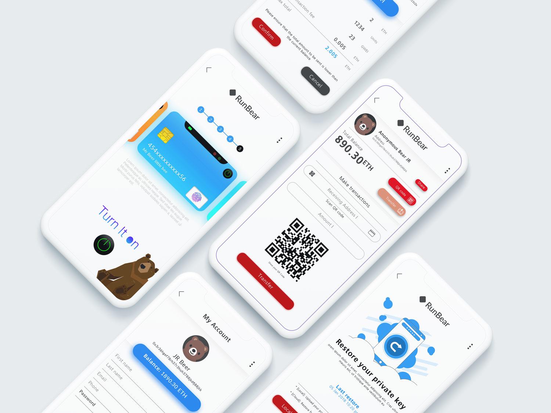Wallet app ui ux