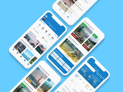 Travel App ui app